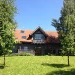 Holzhaus in Ständerbauweise