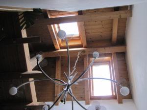 Dachfenster im Treppenhaus